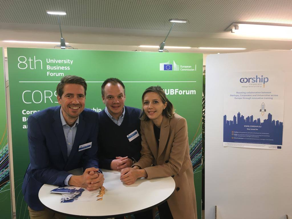 CORSHIP team in Brussels