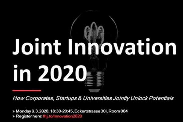 Joint Innovation in 2020
