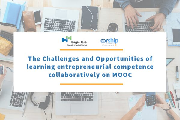 THE CHALLENGES AND OPPORTUNITIES OF LEARNING ENTREPRENEURIAL COMPETENCE COLLABORATIVELY ON MOOC