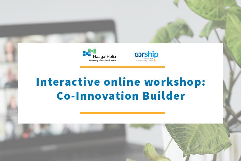 Interactive online workshop: Co-Innovation Builder